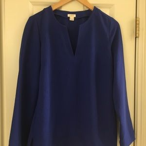 J crew 8 ladies blue top